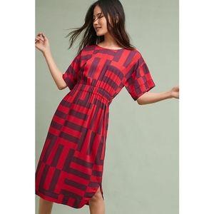 RARE Dusen Dusen Anthropologie Chelsea Midi Dress